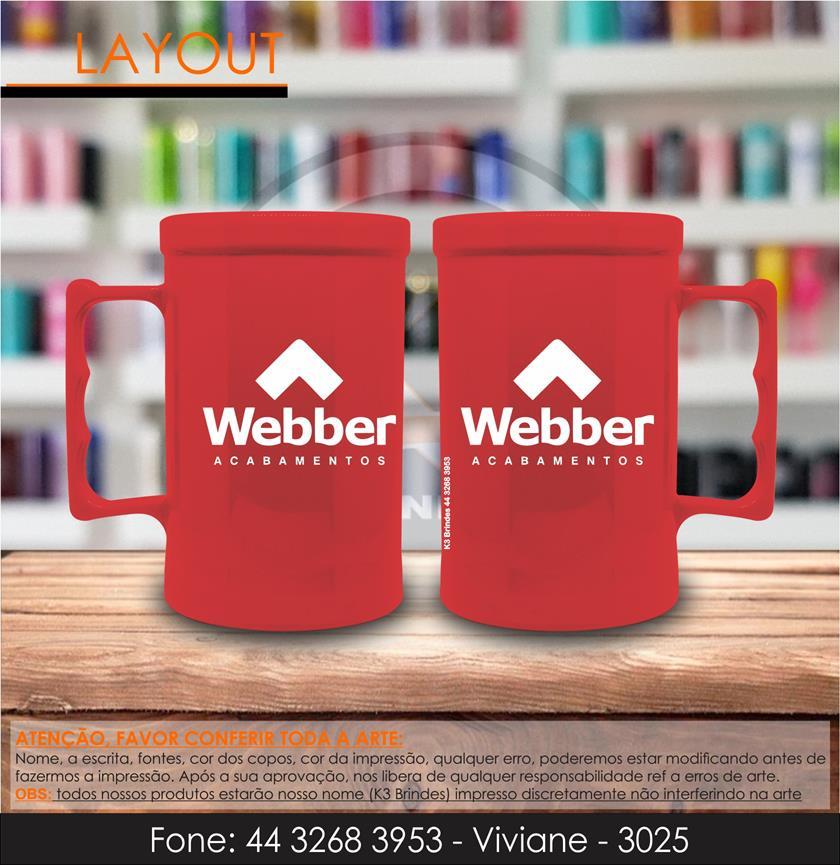3025 - caneca vermelha - webber -