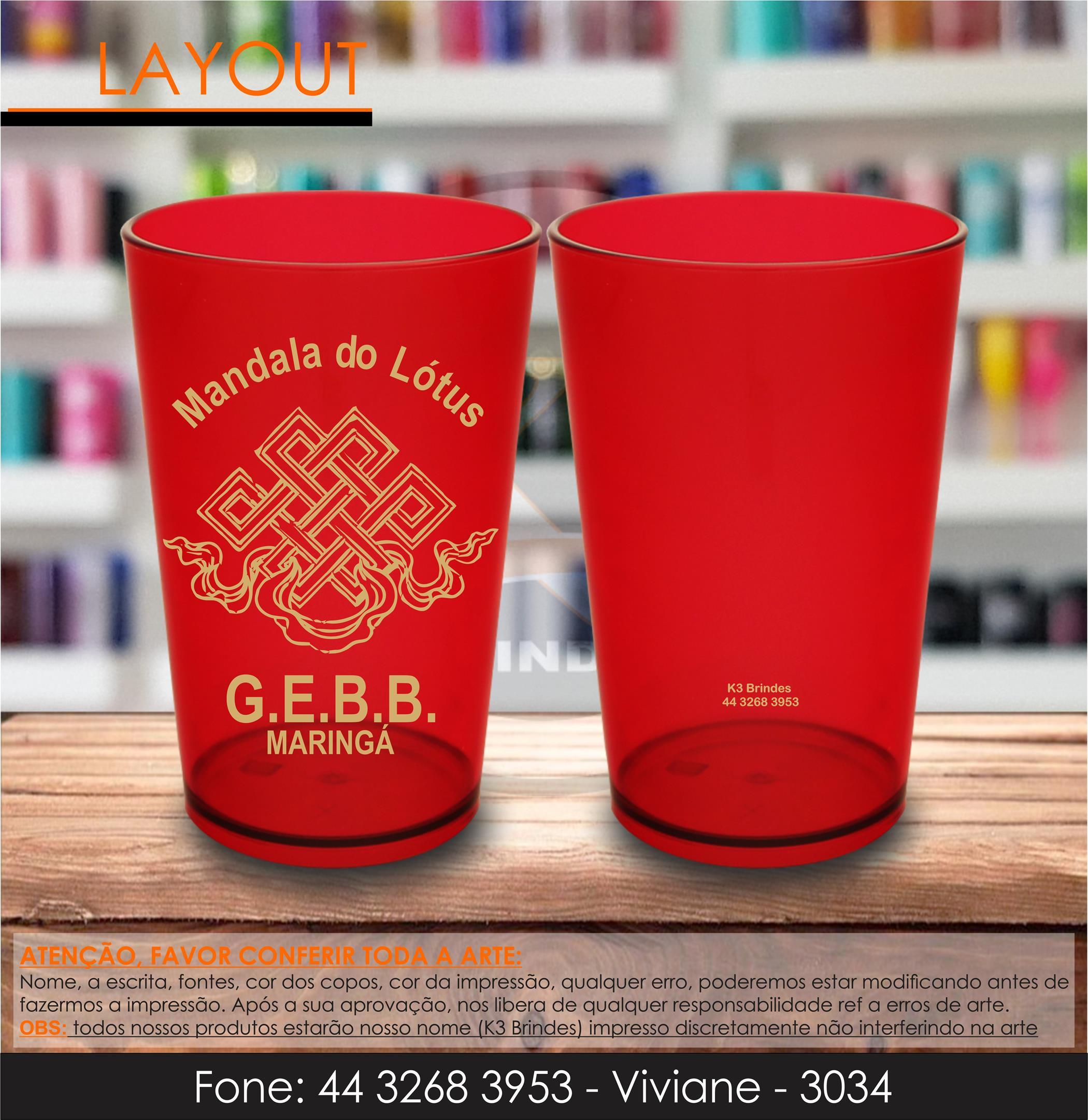 3034 - caldereta vermelha - mandala lótus